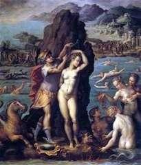 Perseusz i Andromeda   Giorgio Vasari