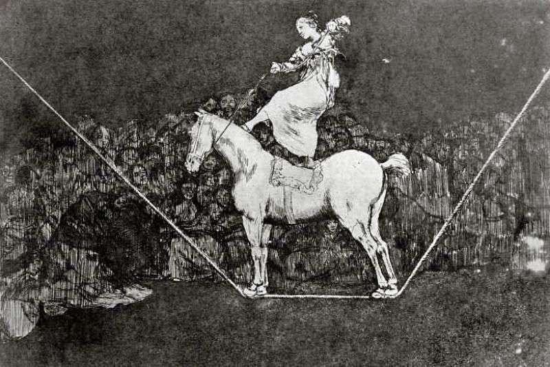 Grawury Caprichos Dissparates (bzdury)   Francisco de Goya
