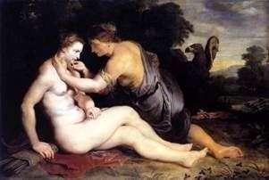 Jowisz i Kallisto   Peter Rubens
