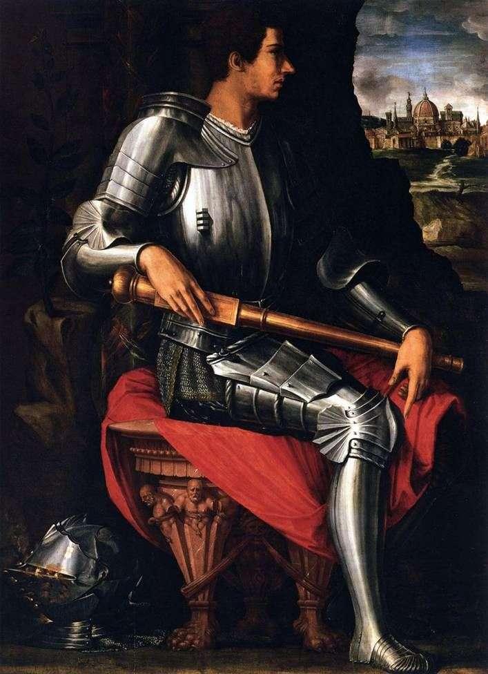 Portret Alessandro Medici   Giorgio Vasari
