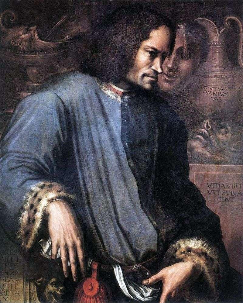 Portret Lorenzo the Magnificent   Giorgio Vasari