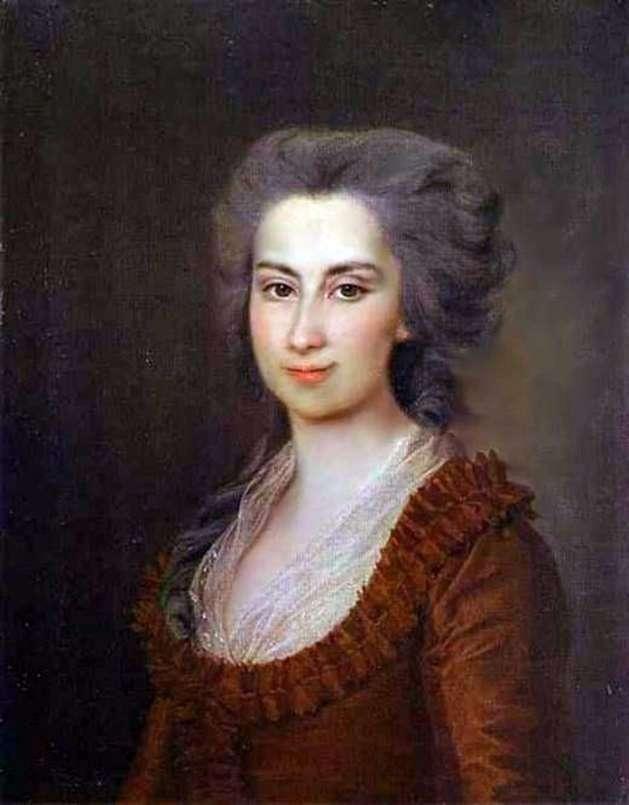 Portret P. F. Woroncowa   Dmitrij Lewicki