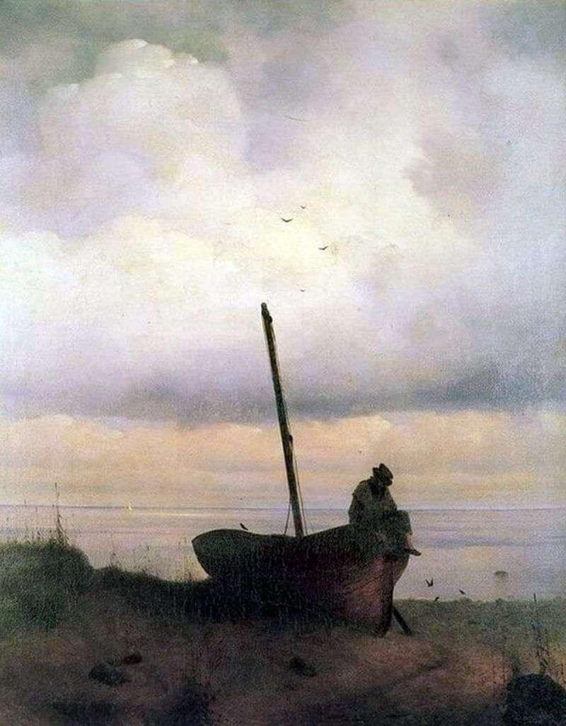Widok na morze w okolicach Petersburga   Iwan Ajwazowski