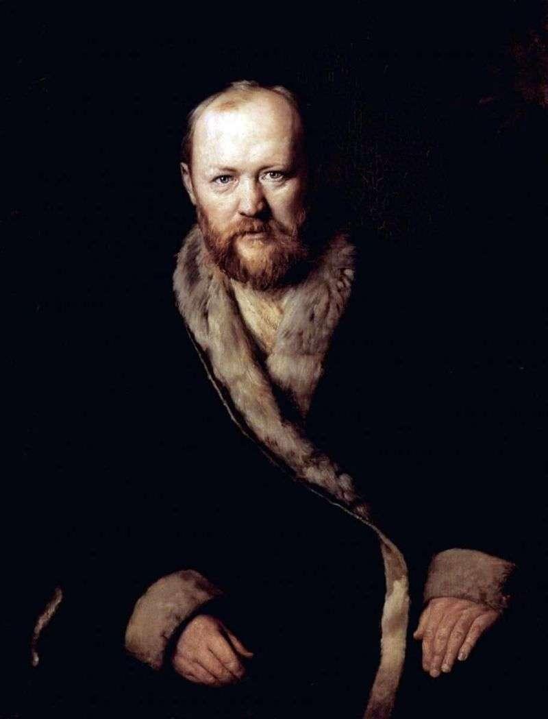 Portret A. N. Ostrovsky, pisarz   Wasilij Perow