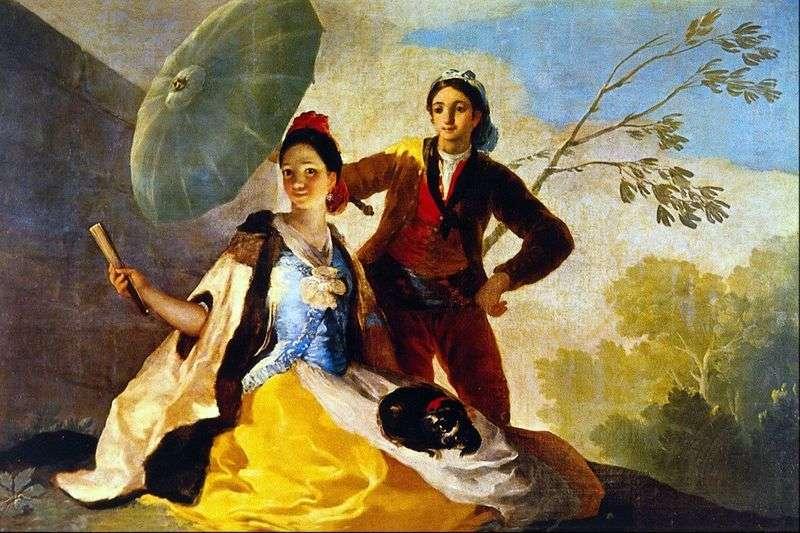 Parasol   Francisco de Goya