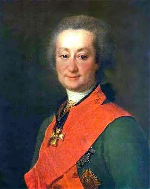 Portret F. G. Orłowa   Dmitrij Lewicki