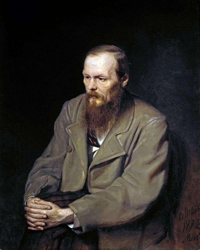 Portret Dostojewskiego   Wasilij Perow