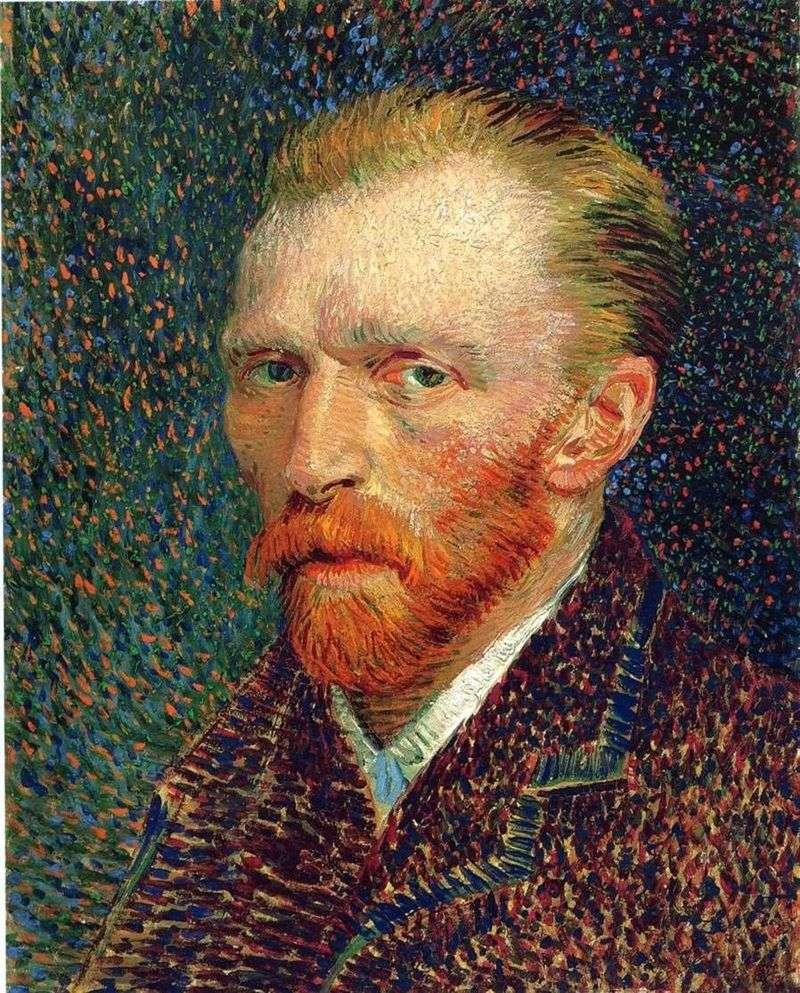 Autoportret   Vincent Van Gogh