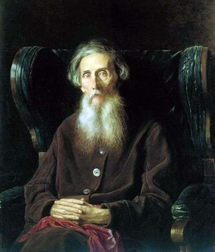 Portret pisarza Władimira Iwanowicza Dahla   Wasilija Perowa