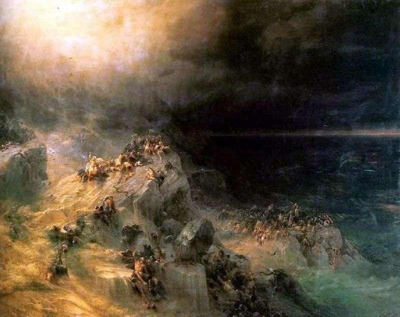Powódź   Iwan Ajwazowski