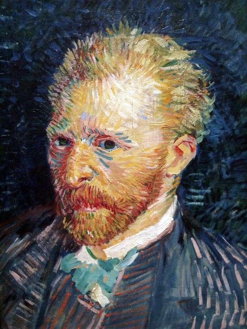 Autoportret V   Vincent Van Gogh