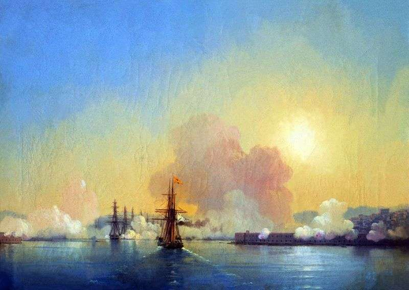 Wejście do Zatoki Sewastopolskiej   Iwan Ajwazowski