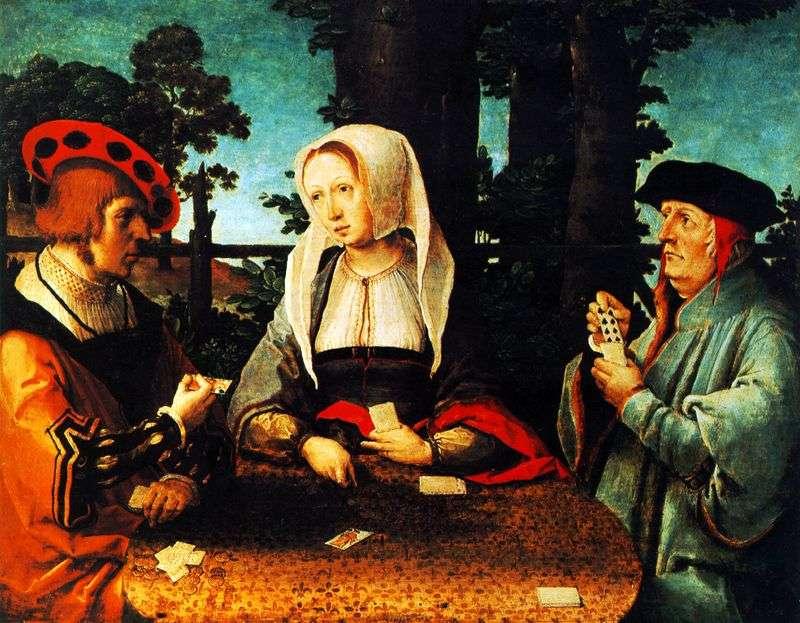 Gra karciana   Lukas van Leiden