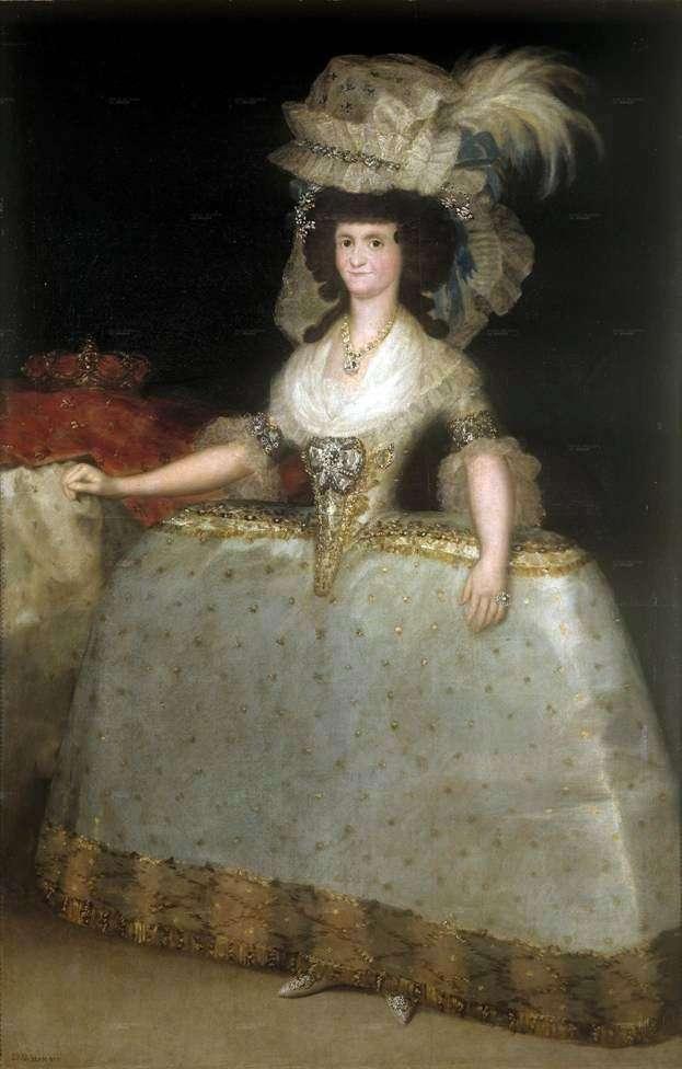 Maria Luisa   Francisco de Goya