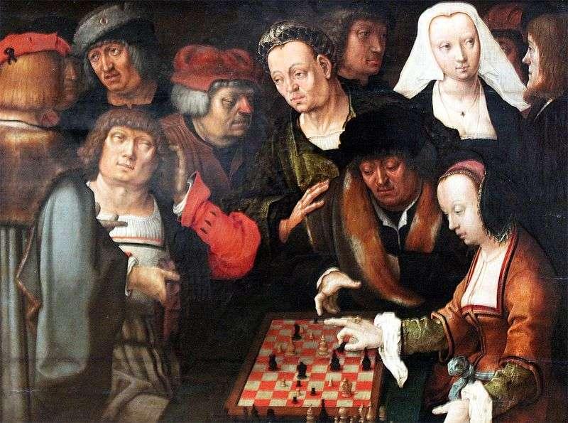 Gra w szachy   Lucas van Leiden