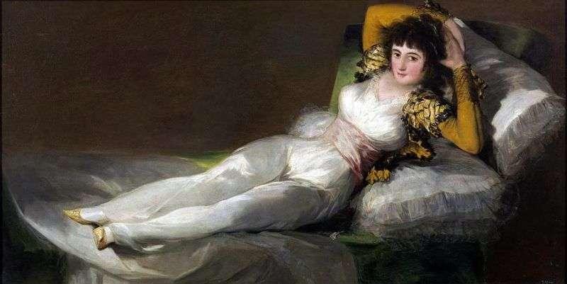 Maha ubrana   Francisco de Goya