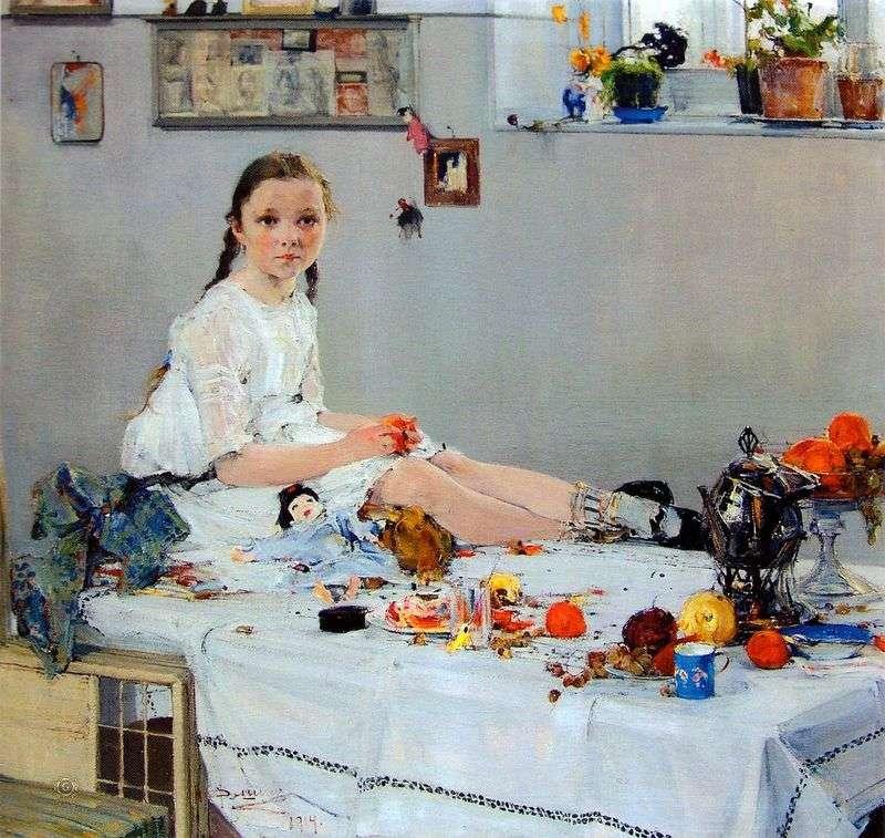 Portret Vary Adoratskaya   Nikolay Feshin