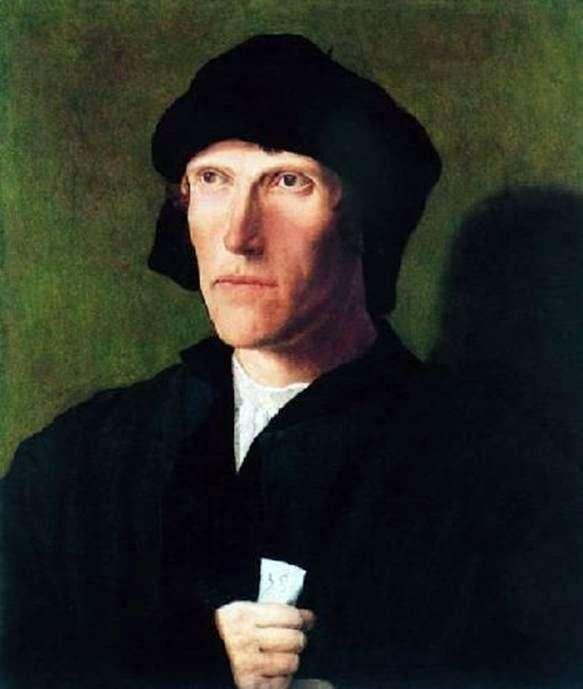 Portret trzydziestoośmioletniego mężczyzny   Lukas van Leiden