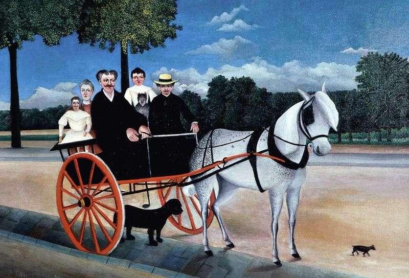 Brichka ojciec Junette   Henri Rousseau