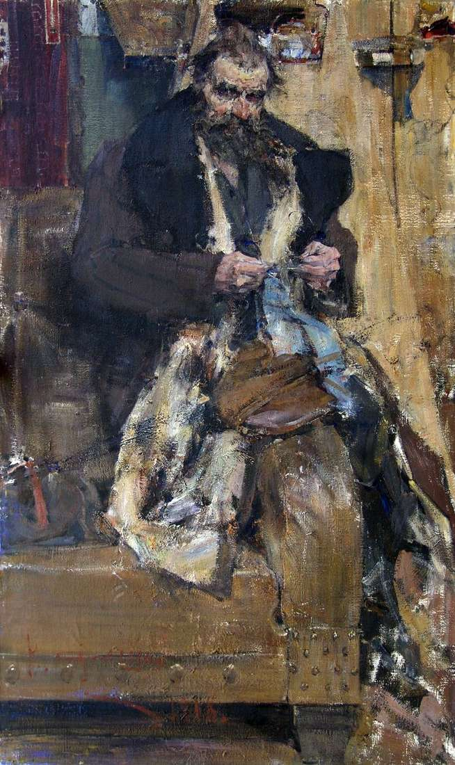 Portret ojca   Nikolay Feshin