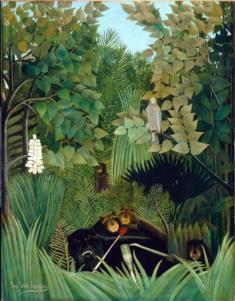 Funny Monkeys Jokers   Henri Rousseau