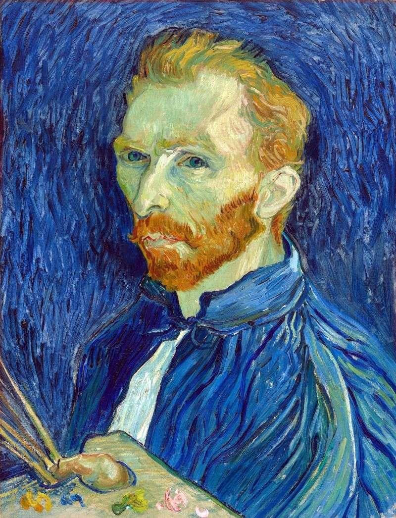 Autoportret z paletą   Vincent Van Gogh