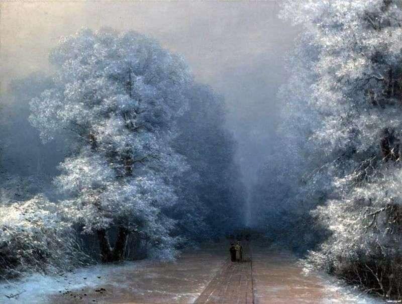 Zimowy krajobraz   Ivan Aivazovsky