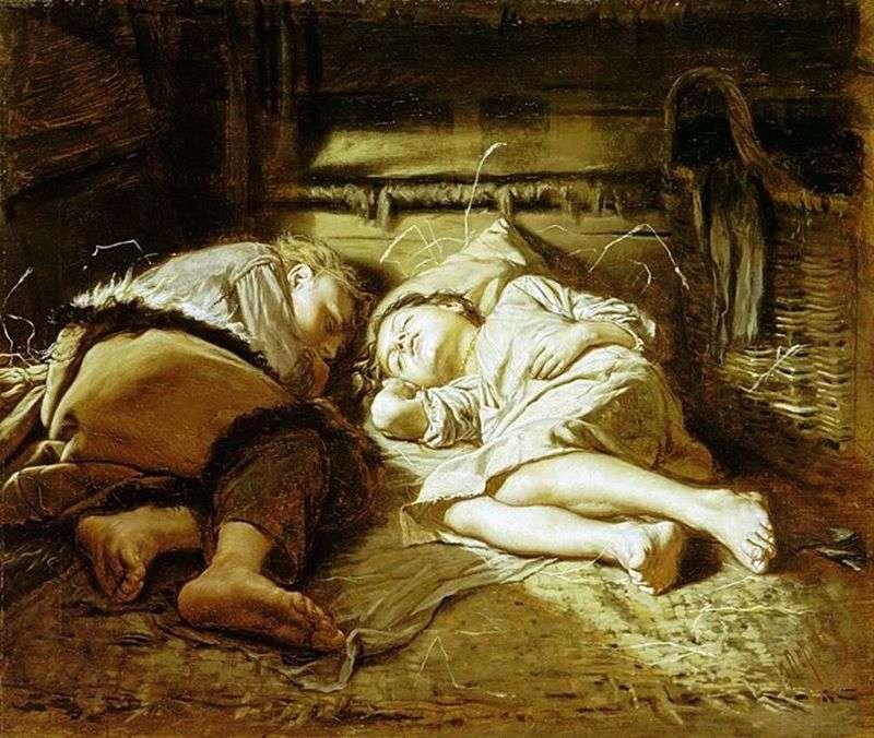 Śpiące dzieci   Wasilij Perow