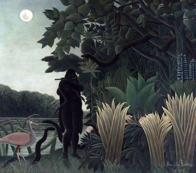 Snake Charmer   Henri Rousseau