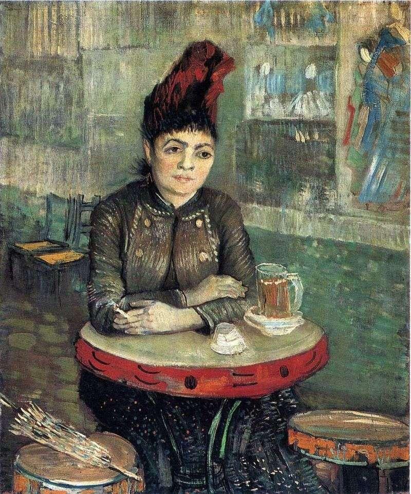 Agostina Segatori w Tambourine Cafe   Vincent Van Gogh