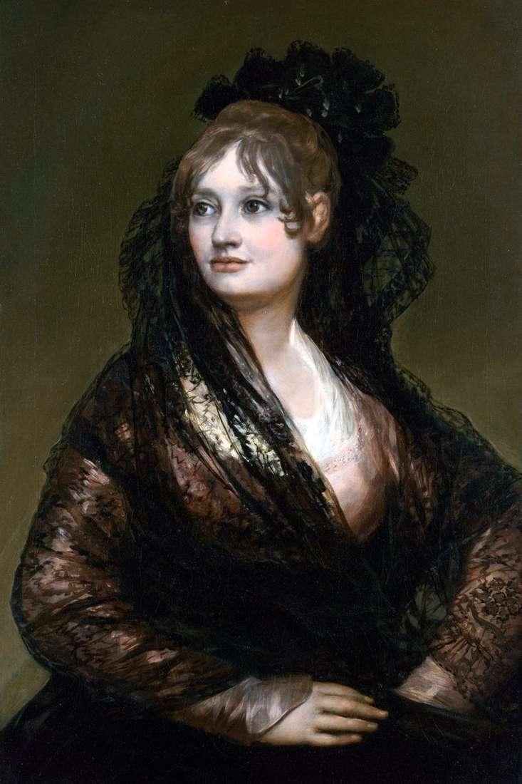 Portret Donny Isabel de Porselle   Francisco de Goya