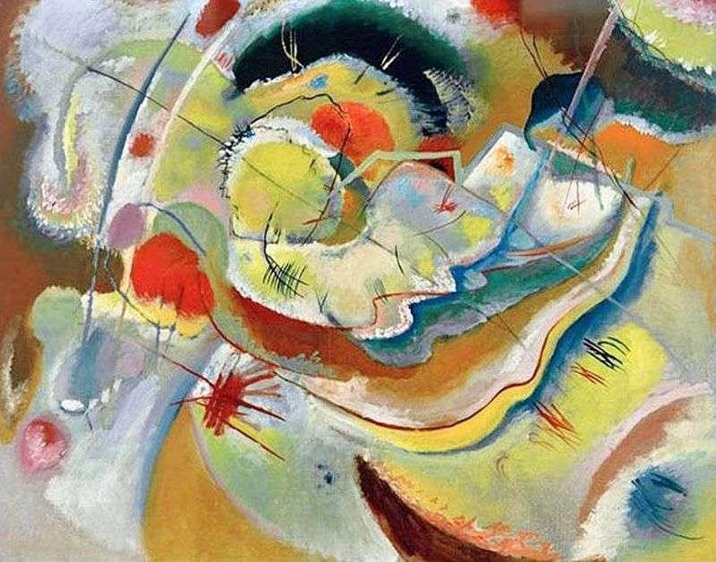 Mały obrazek z żółtym   Wasilij Kandinski