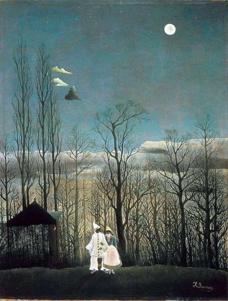 Wieczór karnawałowy   Henri Rousseau