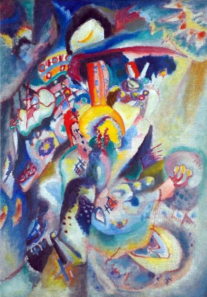 Moskwa II   Wassily Kandinsky