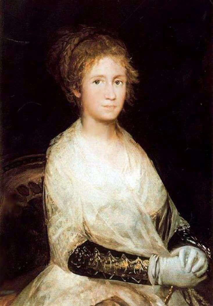 Portret żony   Francisco de Goya