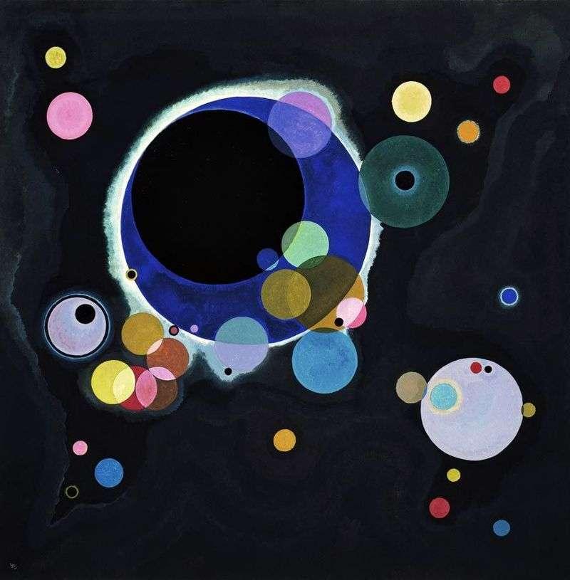 Kilka okrążeń   Wassily Kandinsky