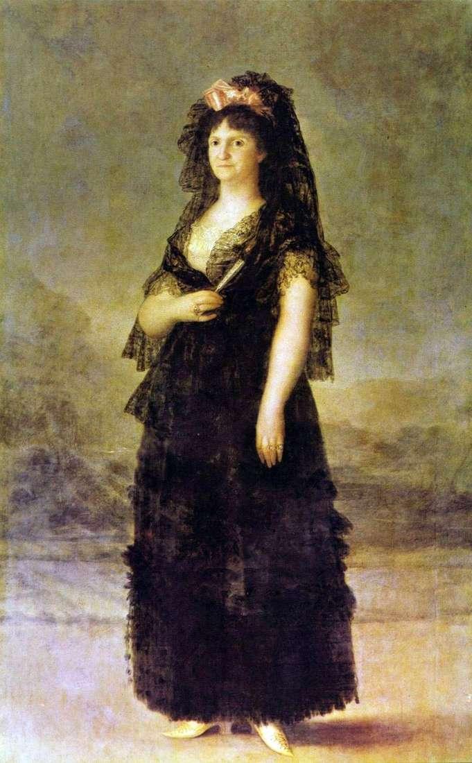 Portret królowej Marii Louise Parma   Francisco de Goya