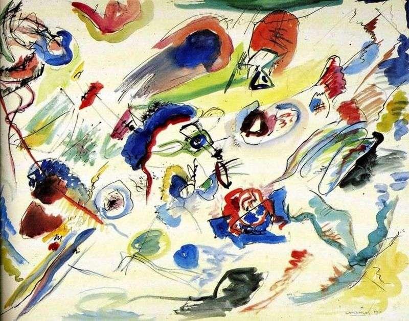 Pierwsza abstrakcyjna akwarela   Wasilij Kandinski