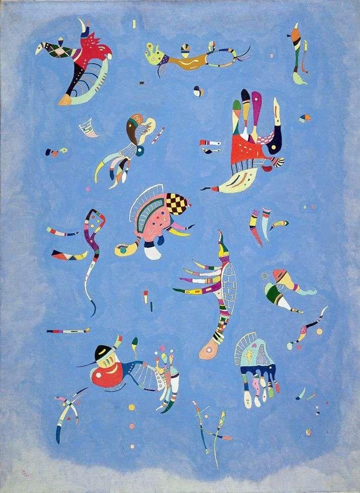 Błękitne niebo   Wassily Kandinsky