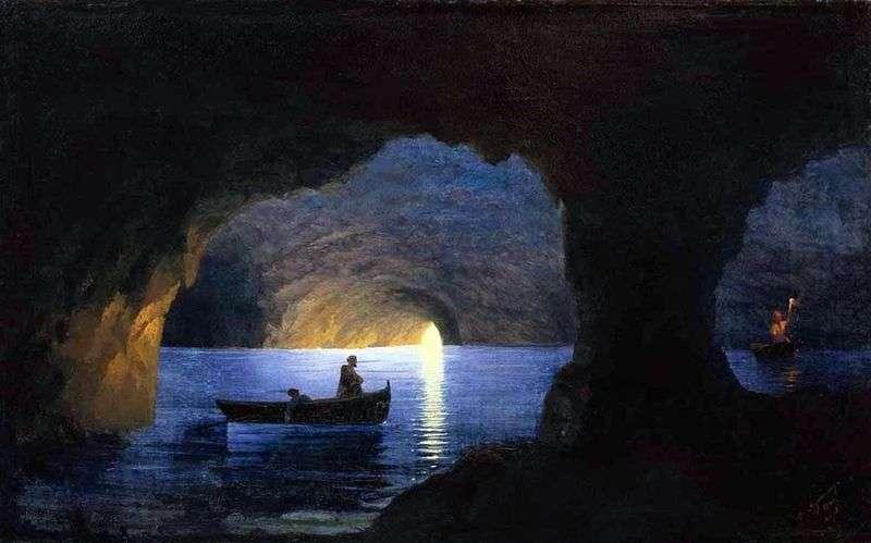 Azure Grotto   Ivan Aivazovsky