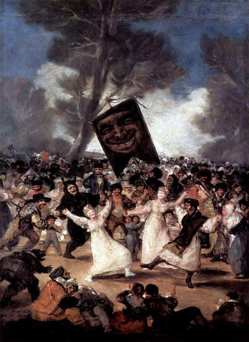 Sardine Funeral   Francisco de Goya
