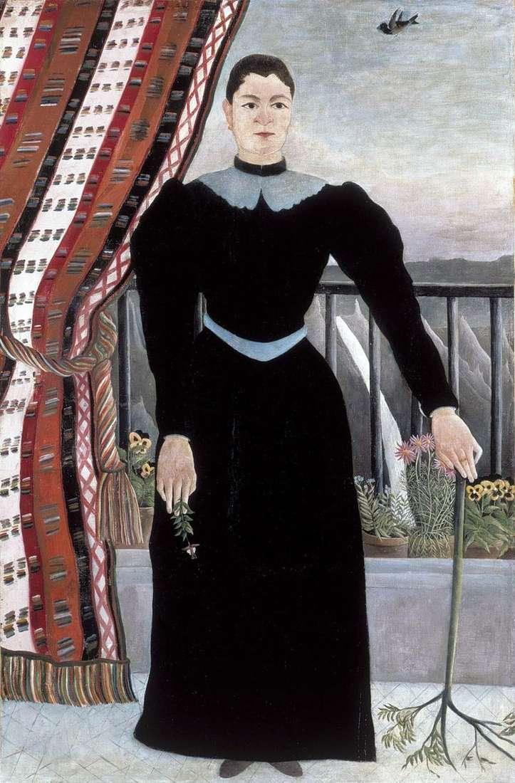 Portret kobiety   Henri Rousseau