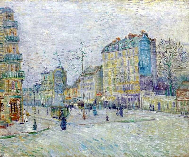 Clichy Boulevard   Vincent Van Gogh