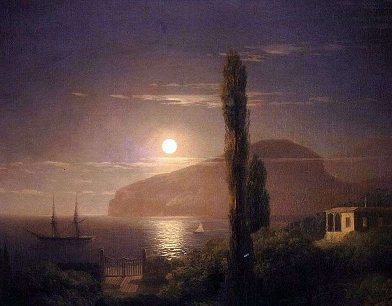 Noc księżycowa na Krymie   Iwan Ajwazowski