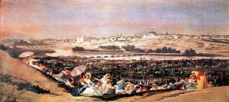 Święto świętej Isidry (Romeria)   Francisco de Goya