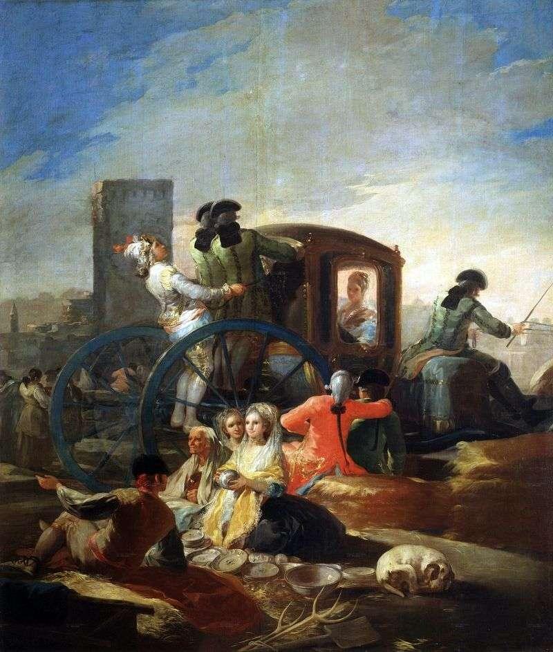 Sprzedawca dań   Francisco de Goya