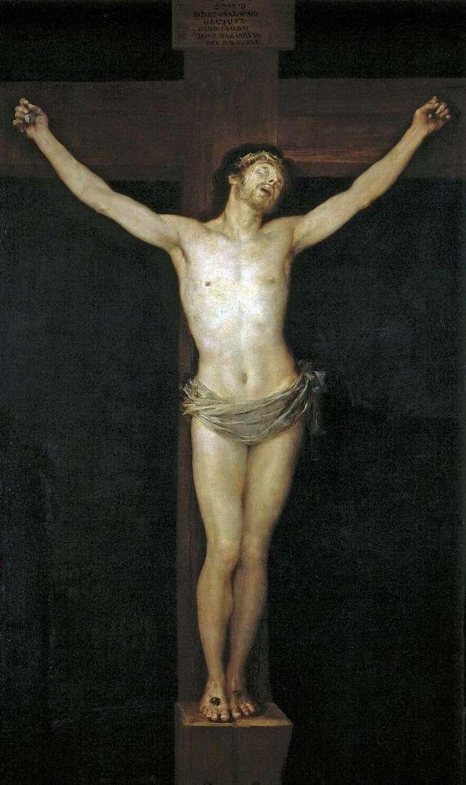 Ukrzyżowanie   Francisco de Goya