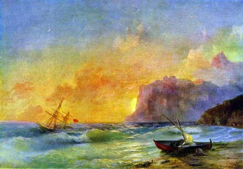 Morze Koktebel Bay   Ivan Aivazovsky