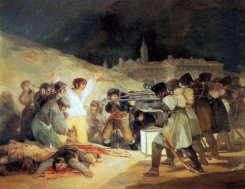 Strzelanie do rebeliantów w nocy 3 maja 1803 roku   Francisco de Goya