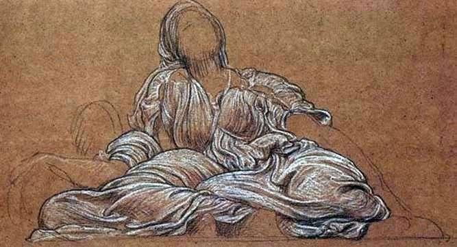 Studium do kompozycji Taniec   Frederick Leighton